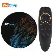 voice <strong>remote</strong> control smart tv box android HK1 MAX RK3328 4G 32G 4k Android 9.0 tv box