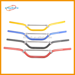 motorcycle parts dirt bike off road pit bike motorcross parts aluminum 22mm handle bar 125cc 2 stroke dirt bike