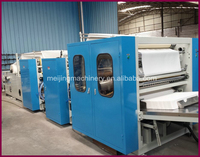 Color Printed V Fold Hand Towel Making Machine Factory