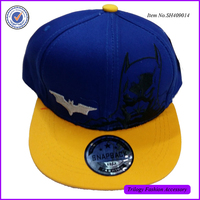 Yiwu Market Stock Small Size Ebroidery Logo Simple Snapback Hat For Children