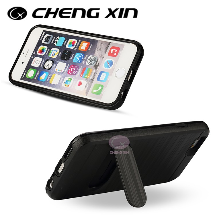 [CX]2016 New phone case connect with bluetooth remote control with pull-out and extend into selfie stick for iphone 6
