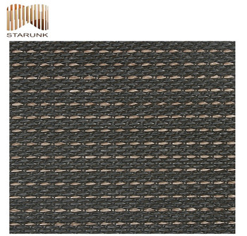 fire-proof photo woven vinyl pvc wall paper for bedroom