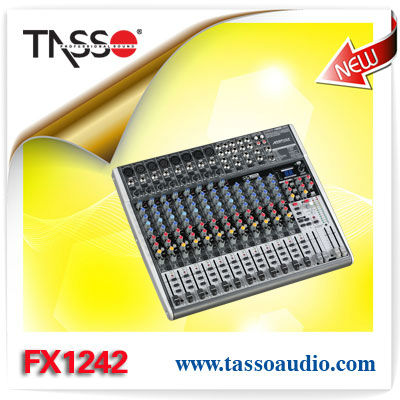 Guangzhou Dj equipment behringer mixing console professional audio mixer TASSO FX