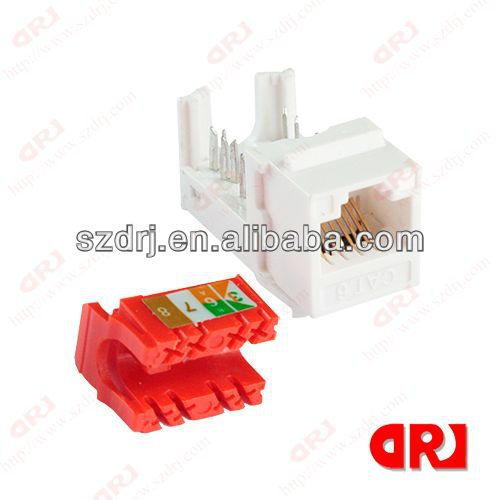 Shenzhen surface mount box with cat5e/cat6 keystone jack