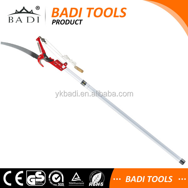 long reach pole pruner tree branch cutter