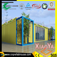 colorful modified shipping container house