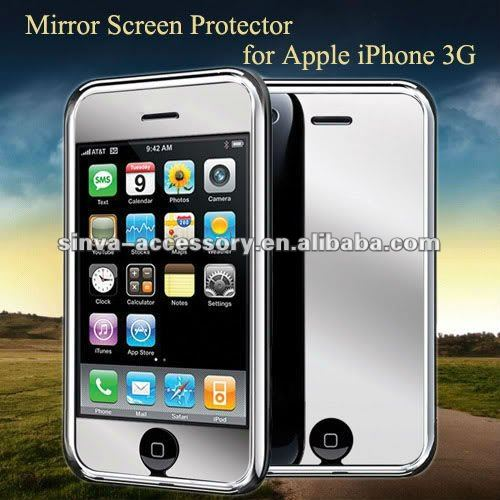 fashionable mirror screen protector for mobile phones