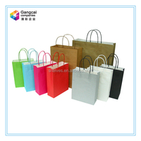 customized kcraft paper shopping bags