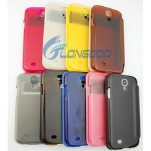 Wake-up Function Flip Leather Case Cover for Samsung Galaxy S4/ i9500