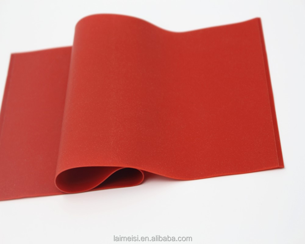 Heat Resistance Insulating Customized Thermal Gel Silicone Rubber Sheet