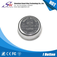 RW1990 stainless ateel ibutton with holded access control cards