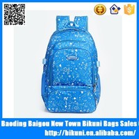 2015 trendy europe style beautiful back school bag pack children backapck