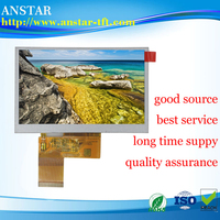 2016 hot sale 4.3 inch 480*272 TFT panel LCD