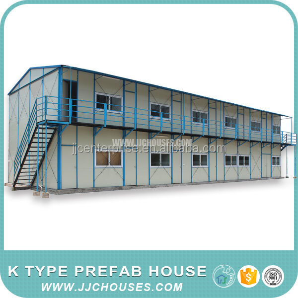 Hot sale 2 storey house design prefabricated house,Low cost 2 Bedroom Prefab Homes,High Quality Premade House China Supplier