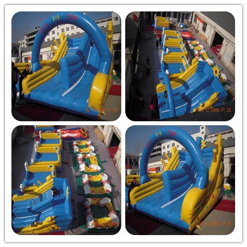 Large commercial noah's ark inflatable slides