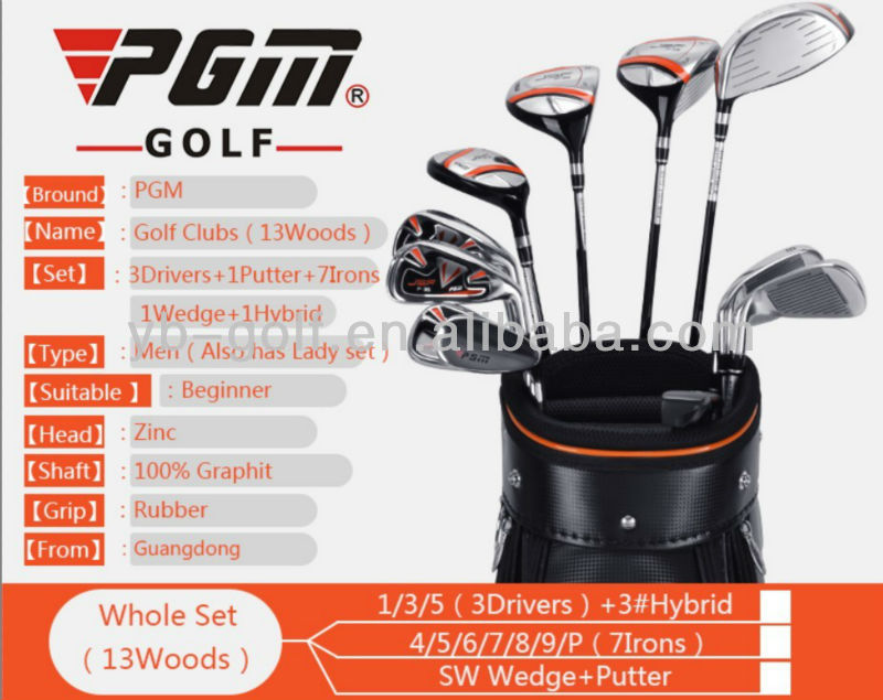 PGM Men Golf Clubs Sale with Golf Bag Online