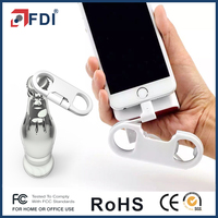 USB Charge Sync Cable + Bottle Opener + Keychain for iPhone,iPad,Samsung,HTC and more