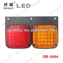 Led tail lights 24v truck,led tail lights for trucks cheap price,PP plate truck tail light
