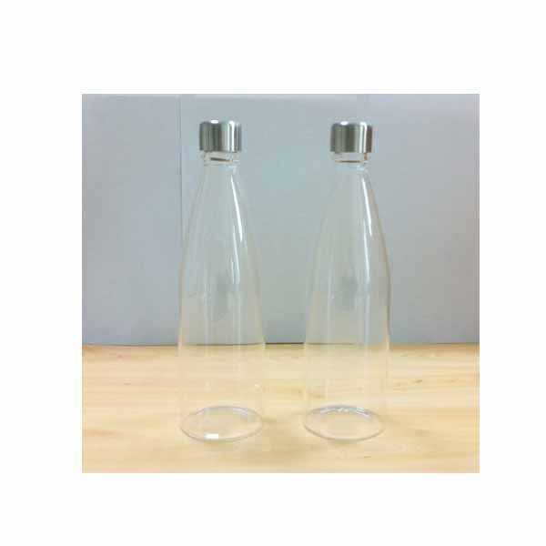 various sizes high-end personalized clear vodka bottles