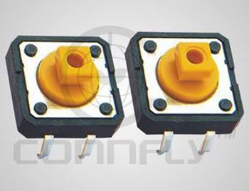 Top grade 12mmx12mm dip type tact light switch with CE FCC certificated