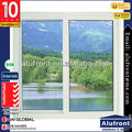 TM72 Heat Insulated Aluminum Glass Sliding Window with double panel opening