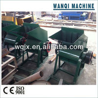 High efficient pp pe film/pet bottle/hard plastic crusher with stable performance for sale