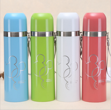 Amazon Hot Sale Insulated Cup Holder Custom Sports Water Bottle Stainless Steel Bullet Vacuum Flask