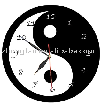 home decoration,EVA clock,promotional gifts