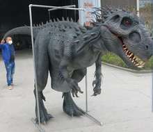 outdoor amusement park animatronic t rex dinosaur for sale