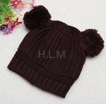 high quality kids cap and baybies funny exquisite beanie cotton knit hat