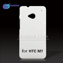 Cell Phone Case Manufacturers, Custom Design Blank Case for HTC ONE M7, 3D Blank Sublimation Case Can Print Any Design
