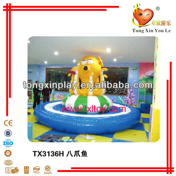 2013 HOT indoor kids soft play games TX-3136H / indoor soft naugty castle