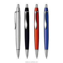Top seller colored advertising metal ball point pen