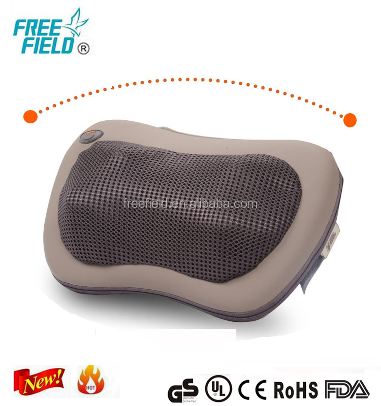 PU OEM office shiatsu acupuncture neck massage pillow