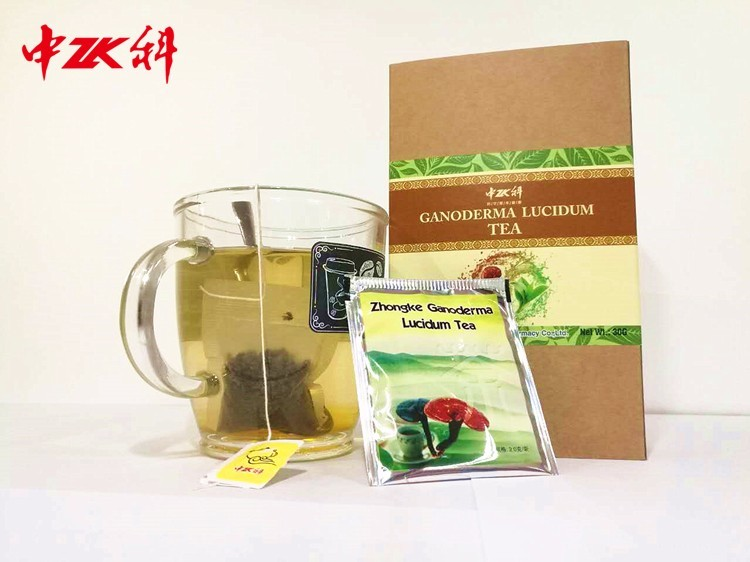 2016 new product Cancer Protector Reishi Extract Ganoderma Excel Herbal Green Tea fitne tea