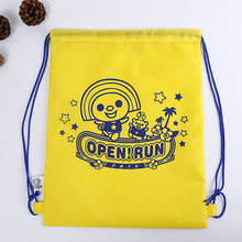 Custom Promotional Sport Pack Polyester Carry Drawstring Bag