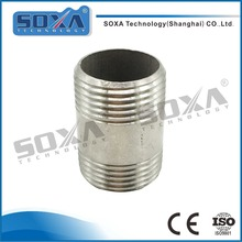 Factory price 4 inch sanitary stainless steel 304 pipe male threaded extension nipple