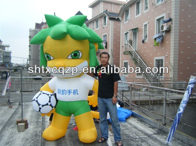 inflatable cartoon/ inflatable figure for outdoor event