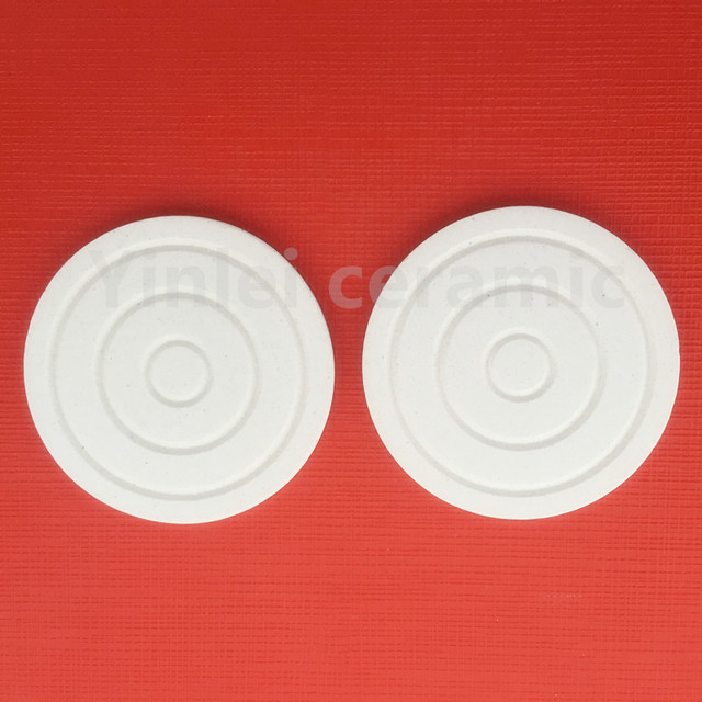 ceramic plate for eye shadow/blusher/face powders/Cosmetic ceramics 40*3.4mm Round grain