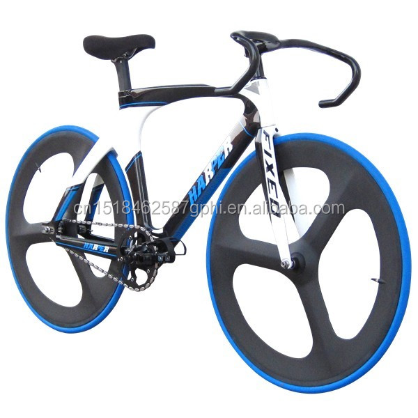 700C Carbon Fiber Fixed Gear Bicycle Track Bike