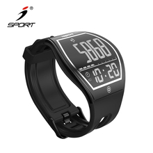 Health Step Counter E-ink Bluetooth Watches For Sports