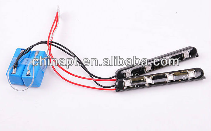 3 Color LED light car For Car Price List