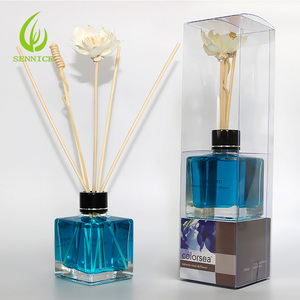 aroma rattan reed diffuser with natural sticks 100ml for office