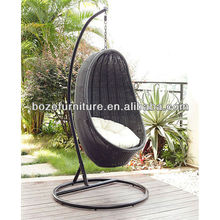 Outdoor High quality rattan swing chair/Europe style swing chair/Rattan hommock