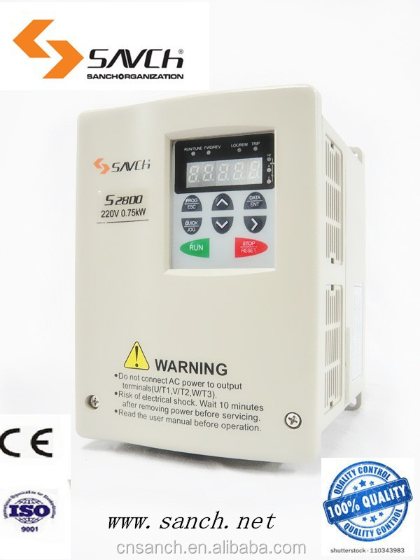 7.5kw ISO CE Certificated VF RS-485 communication 380v/400v 50hz 60hz high frequency welding machine 3 phase inverter