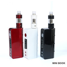 In Stock Balck /Ss/Red/White/Blue Best Vaping Box Mod Authentic Sigelei Mini Book 40W TC Mod Hot Selling