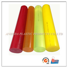 Pure pu Nature/tea color/red/yellow color pu Polyurethane rod