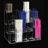 Modern stylish new multilayer pen acrylic rack and cosmetic display