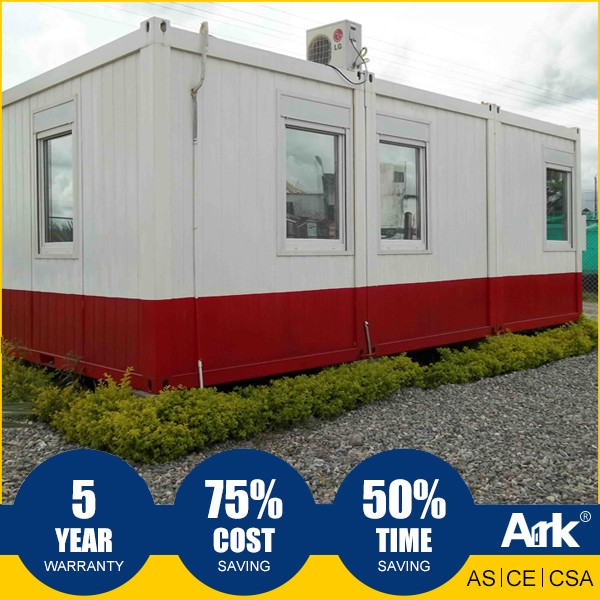 Ark Top Quality Good Price Long Lifespan Flatpack Prefabricated Steel Oil Field Sentry box Guard house