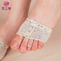 X-8063 Factory wholesale hot drill decoration protected belly dance foot thongs
